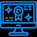 ícone de biometria