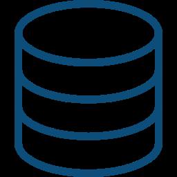ícone de banco de dados