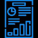 ícone de relatório