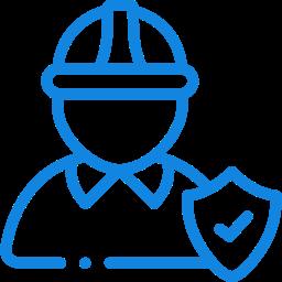 ícone de trabalhador construtor